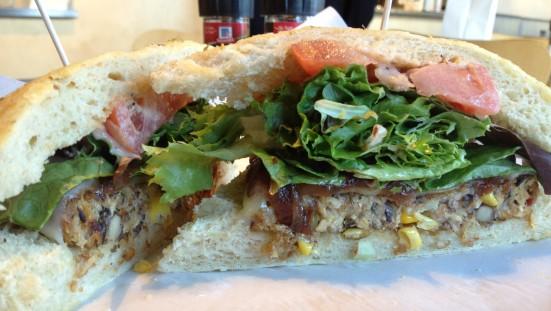 Steve's Uptown Veggie burger. My favorite!